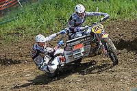 HENDRICKX, Joris (BEL) und LIEPINS, Kaspars (LAT) auf VMC-KTM
