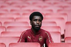An Arsenal fan before kick off - Mandatory by-line: Arron Gent/JMP - 22/09/2019 - FOOTBALL - Emirates Stadium - London, England - Arsenal v Aston Villa - Premier League