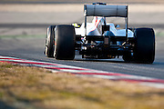 Sergio Perez (MEX) drives the Sauber F1 team C31 Formula One Testing, Circuit de Catalunya, Barcelona, Spain, World Copyright: Jamey Price