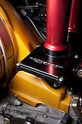 Image of a 3.8 liter Porsche 911 RSR slide valve Rothsport motor, Costa Mesa, California, America west coast, property released