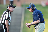 Samford head coach Pat Sullivan argues a call during the game against  Appalachian State at Seibert Stadium in Homewood, Ala., Saturday, Oct 13, 2012. (Marvin Gentry)