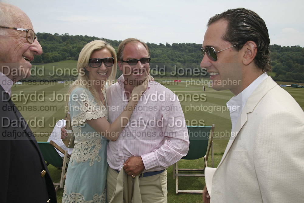 Ronnie Grierson, Jenny Halpern, Tara Getty and Ryan Prince, Guy Leymarie and Tara Getty host The De Beers Cricket Match. The Lashings Team versus the Old English team. Wormsley. ONE TIME USE ONLY - DO NOT ARCHIVE  © Copyright Photograph by Dafydd Jones 66 Stockwell Park Rd. London SW9 0DA Tel 020 7733 0108 www.dafjones.com