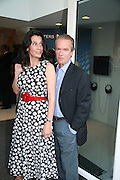 Isabel Fonseca and Martin Amis, Launch of Tina Brown's book 'The Diana Chronicles' hosted by Reuters. Serpentine Gallery. 18 June 2007.  -DO NOT ARCHIVE-© Copyright Photograph by Dafydd Jones. 248 Clapham Rd. London SW9 0PZ. Tel 0207 820 0771. www.dafjones.com.
