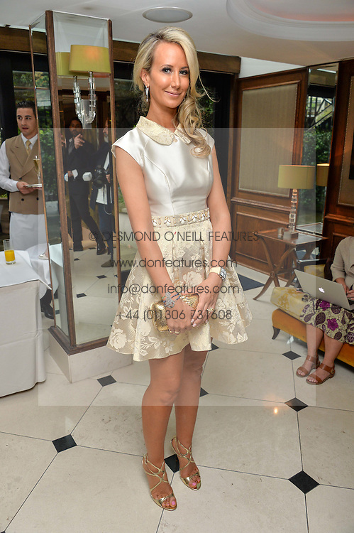 """LADY VICTORIA HERVEY at a party to celebrate the publication of """"Lady In Waiting: The Wristband Diaries"""" By Lady Victoria Hervey held at The Goring Hotel, Beeston Place, London on 9th May 2016."""