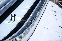 Alex Insam (ITA) during the 1st Round of the Ski Flying Hill Individual Competition at Day 2 of FIS Ski Jumping World Cup Final 2019, on March 22, 2019 in Planica, Slovenia.  Photo by Matic Ritonja / Sportida