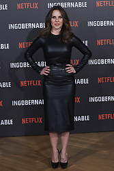 March 29, 2017 - Madrid, Spain - KATE DEL CASTILLO attended Netflix's 'Ingobernable' photocell at Ritz Hotel on March 29, 2017 in Madrid (Credit Image: © Jack Abuin via ZUMA Wire)