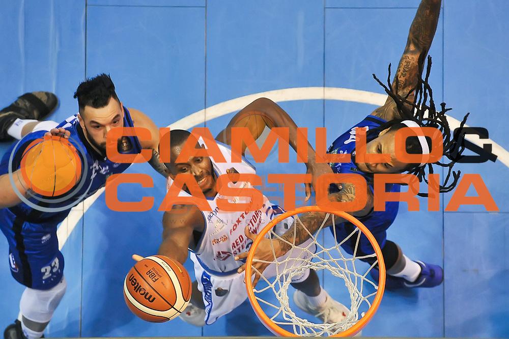 Zabien Dowdell<br /> Red October Cantu&rsquo;  - Germani Basket Brescia Leonessa<br /> Lega Basket 2016/2017<br /> Desio 29/01/2017<br /> Foto Ciamillo-Castoria