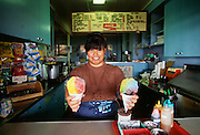 Shave ice, Tutu's Snack Shop, Hana, Maui, Hawaii