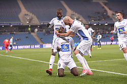 December 15, 2017 - Le Havre, France - But Ande Dona Ndoh (nio) - Laurent Agouazi  (Credit Image: © Panoramic via ZUMA Press)