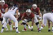 PALO ALTO, CA - OCTOBER 3:  Joshua Garnett #51 of the Stanford Cardinal plays in a PAC-12 NCAA football game against the Arizona Wildcats on October 3, 2015 at Stanford Stadium in Palo Alto, California.  (Photo by David Madison/Getty Images) *** Local Caption *** Joshua Garnett