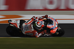 November 10, 2017 - Valencia, Valencia, Spain - 99 Jorge Lorenzo (Spanish) Ducati Team Ducati during free practice at the Gran Premio Motul de la Comunitat Valenciana, Circuit of Ricardo Tormo,Valencia, Spain. Friday 10th of november 2017. (Credit Image: © Jose Breton/NurPhoto via ZUMA Press)