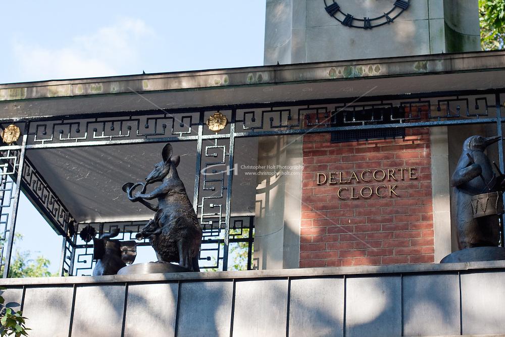 delacorte clock in New York City in October 2008