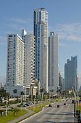Skyscrapers at Cinta costera, Panama city,Panama,Central America