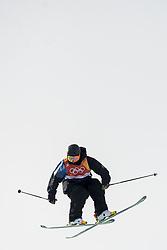 February 18, 2018 - Pyeongchang, SOUTH KOREA - 180218 Henrik Harlaut of Sweden competes in the Men's Slopestyle Qualification during day nine of the 2018 Winter Olympics on February 18, 2018 in Pyeongchang..Photo: Petter Arvidson / BILDBYRÃ…N / kod PA / 91979 (Credit Image: © Petter Arvidson/Bildbyran via ZUMA Press)