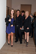 KATHERINE SCHWARZENEGGER; ROB LOWE; NIKOLAI BISMARCK; ; CHERYL LOWE;.A Living man declared Dead and Other Chapters. Taryn Simon. Tate Modern, London. 24 May 2011. <br /> <br />  , -DO NOT ARCHIVE-© Copyright Photograph by Dafydd Jones. 248 Clapham Rd. London SW9 0PZ. Tel 0207 820 0771. www.dafjones.com.