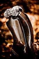 Zimsculpt at Van Dusen Botanical Garden: Lovers - springstone sculpture by Sami Rosani (original sculpture available at www.zimsculpt.com)