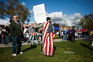 A Tea Party rally at Renette Park in El Cajon drew several hundred people. Speakers included congressional and gubernatorial candidates.