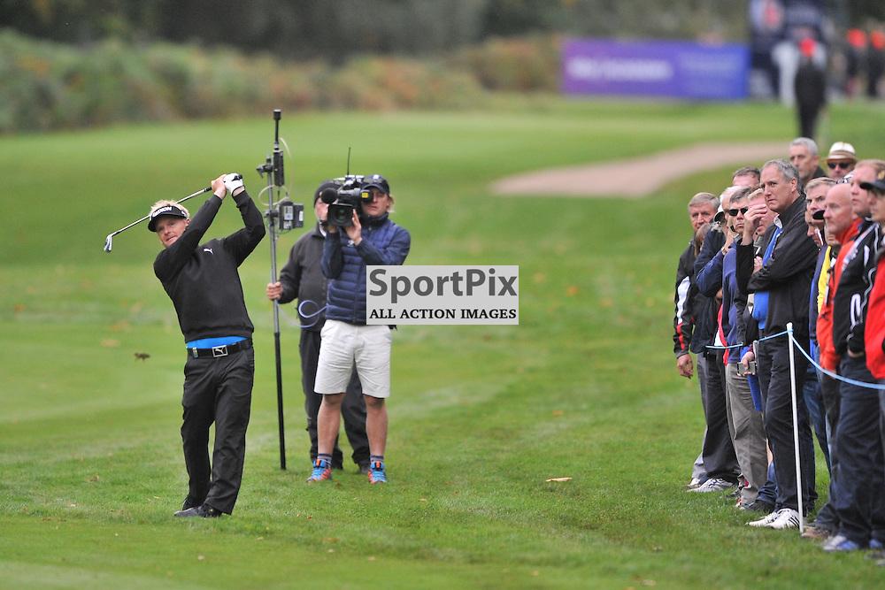 Soren Kjeldsen Denmark,   British Masters, European Tour, Woburn Golf Club, 8th October 2015British Masters, European Tour, Woburn Golf Club, 8th October 2015