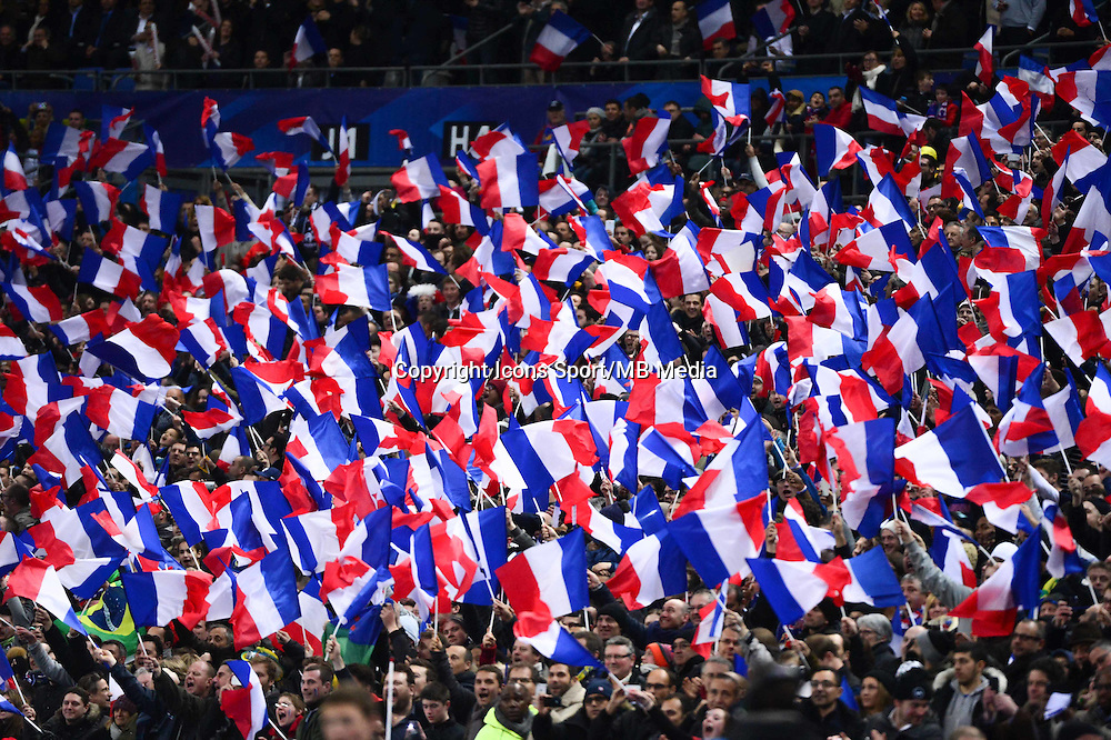 Supporters France - 26.03.2015 - France / Bresil - Match Amical<br />Photo : Dave Winter / Icon Sport