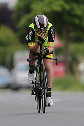 26.06.2015, Einhausen, GER, Deutsche Strassen Meisterschaften, im Bild Tatjana Paller (RSC Cottbus) // during the German Road Championships at Einhausen, Germany on 2015/06/26. EXPA Pictures © 2015, PhotoCredit: EXPA/ Eibner-Pressefoto/ Bermel<br /> <br /> *****ATTENTION - OUT of GER*****