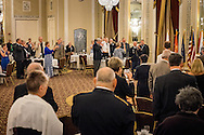 A toast at the LCMS Ministry to the Armed Forces Recognition Dinner, part of the 66th Regular Convention of The Lutheran Church–Missouri Synod, on Sunday, July 10, 2016, in Milwaukee. LCMS/Michael Schuermann