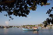 Phu Quoc Island. Duong Dong harbour. Fishing boats.