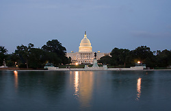 Washington DC; USA: The Capitol Building, legislative branch of the US government, as seen at night.Photo copyright Lee Foster Photo # 3-washdc83099