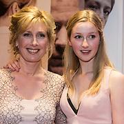 NLD/Amsterdam//20140330 - Filmpremiere Lucia de B. , Ariane Schluter en dochter
