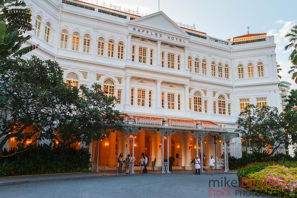Raffles Hotel. Singapore, Asia.