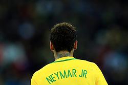 Brazil's Neymar during the match
