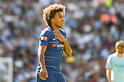 Chelsea Midfielder Willian (22) during the FA Community Shield match between Chelsea and Manchester City at Wembley Stadium, London, England on 5 August 2018. Picture by Stephen Wright.