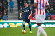 Leeds United defender Luke Ayling (2)  during the EFL Sky Bet Championship match between Stoke City and Leeds United at the Bet365 Stadium, Stoke-on-Trent, England on 19 January 2019.