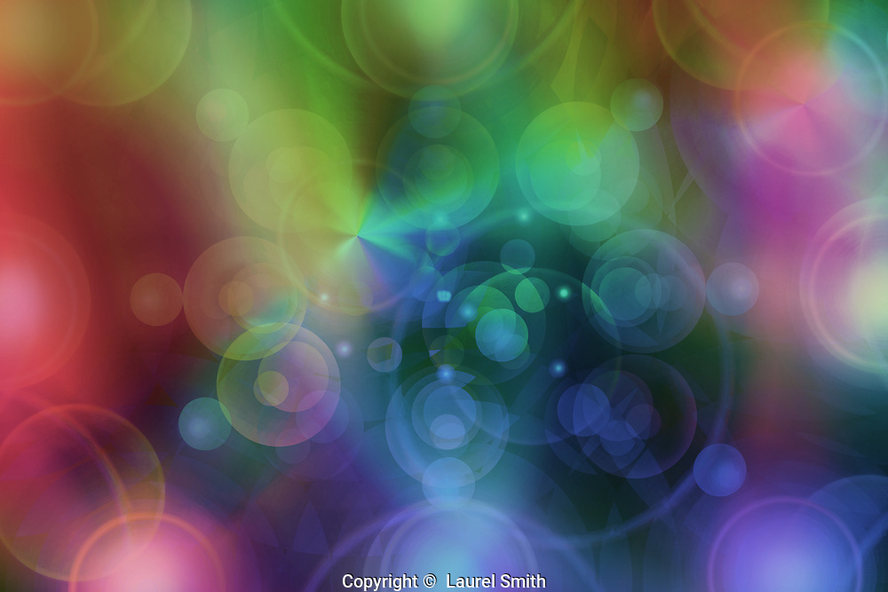 Pondering #21 ~ Ponder existence and the Divine Grace of Creation. The Path of the Mind finds it's Divine spark ~ © Laurel Smith