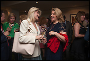 BRIDGET CONVEY; KATE WAKE-WALKER, The hon Alexandra Foley hosts drinks to introduce ' Lady Foley Grand Tour' with special guest Julian Fellowes. the Sloane Club. Lower Sloane st. London. 14 May 2014