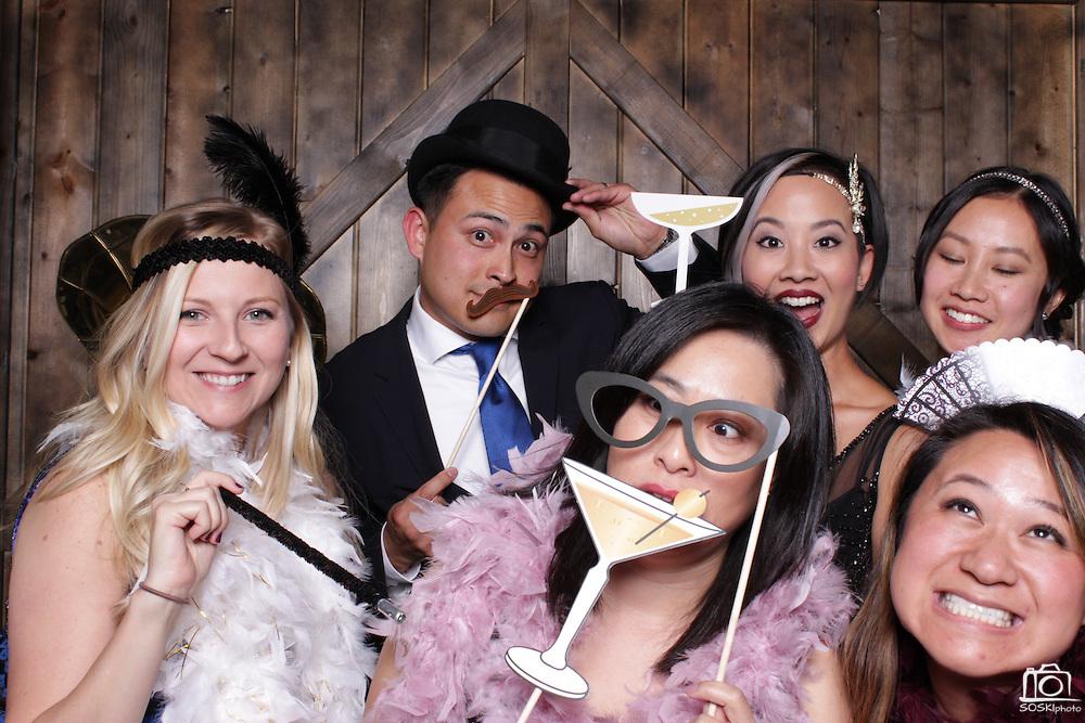 San Francisco Wedding Photo Booth Rental. (SOSKIphoto Booth)