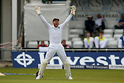 England & Yorkshire wicket keeper Jonny Bairstow  appeals during day 3 of the first Investec Test Series 2016 match between England and Sri Lanka at Headingly Stadium, Leeds, United Kingdom on 21 May 2016. Photo by Simon Davies.