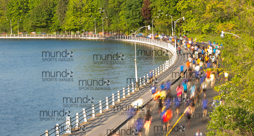 (Ottawa, Canada---24 May 2015) generic photo racing along the canal in the Canadian National 10k Road Championships as part of the Tamarack Run Ottawa Race Weekend.