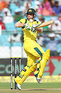 Phillip Hughes of Australia deals with a rising delivery from Vinay Kumar of India  during the 2nd One Day International (ODI) match in the Star Sports Series between India and Australia held at the Sawai Mansingh Stadium in Jaipur on the 16th October 2013<br /> <br /> Photo by Ron Gaunt-BCCI-SPORTZPICS<br /> <br /> Use of this image is subject to the terms and conditions as outlined by the BCCI. These terms can be found by following this link:<br /> <br /> http://sportzpics.photoshelter.com/gallery/BCCI-Image-terms-and-conditions/G00004IIt7eWyCv4/C0000ubZaQCkIRgQ