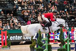 SCHWIZER Pius (SUI), Grand Cooper<br /> Leipzig - Partner Pferd 2019<br /> Eröffnungsspringen<br /> 17. Januar 2019<br /> © www.sportfotos-lafrentz.de/Stefan Lafrentz