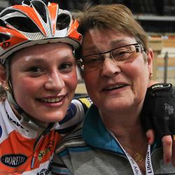 Roxane en moeder Gre Kneteman