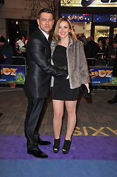 CHARLOTTE CHURCH and JOHN PARTRIDGE arrive at the press night of the new Andrew Lloyd Webber  musical 'The Wizard of Oz' at The London Palladium, Argylle Street, London on 1st March 2011 followed by an aftershow party at One Marylebone, London NW1