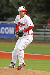 25 May 2013:  Chris Razo during an NCAA division 1 Missouri Valley Conference (MVC) Baseball Tournament game between the Wichita State Shockers and the Illinois State Redbirds on Duffy Bass Field, Normal IL