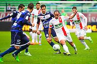 Bruno GROUGI - 10.01.2014 - Troyes / Brest - 19e journee Ligue 2<br /> Photo : Dave Winter / Icon Sport