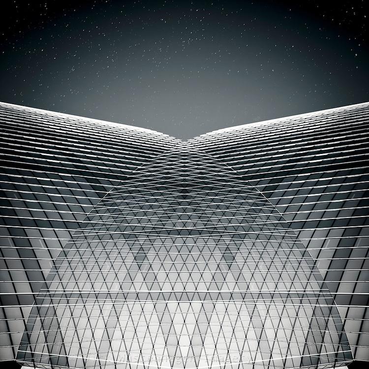 Abstrakte Architektur, Composing und Bildmanipulation