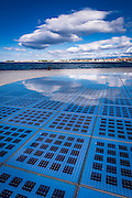 Greetings to the Sun solar panel, Zadar, Dalmatian Coast, Croatia