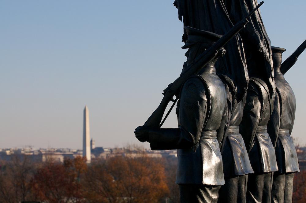 Lincoln Memorial, Washington Monument, Air Force Memorial