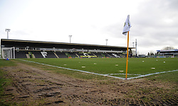 General views inside the stadium - Mandatory by-line: Nizaam Jones/JMP- 09/02/2019 - FOOTBALL - New Lawn Stadium- Nailsworth, England - Forest Green Rovers v Notts County - Sky Bet League Two