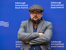 "Edinburgh, Scotland, UK. 26 August, 2018. Pictured; Crime writer David Mark whose ""Scorched Earth"" is the seventh on the long running DS McAvoy series."