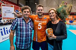 06-09-2018 NED: Netherlands - Argentina, Doetinchem<br /> First match of Gelderland Cup / Dirk Sparidans #5 of Netherlands