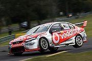 Jamie Whincup in the Team Vodafone Falcon during the Norton 360 Sandown Challenge held at the Sandown International Motor Raceway, Victoria on Sunday 2nd August. 2009 V8 Supercar Series Rounds 13 and 14. Photo © Clay Cross/PHOTOSPORT